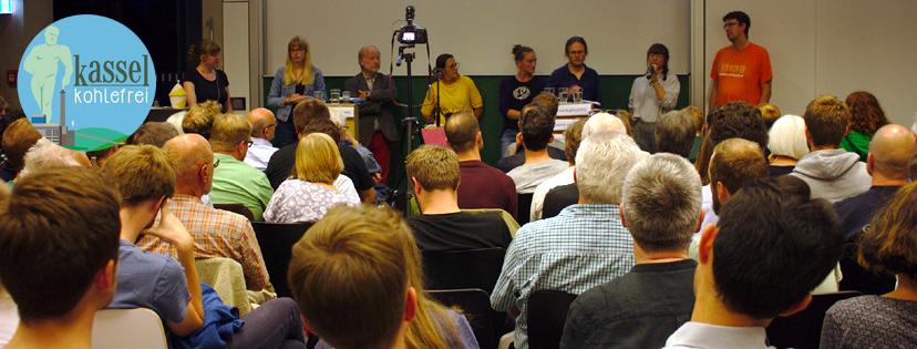 Diskussionsrunde zur Klimapolitik der Stadt Kassel